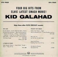 ELVIS PRESLEY Kid Galahad EP Vinyl Record 7 Inch German RCA 1962